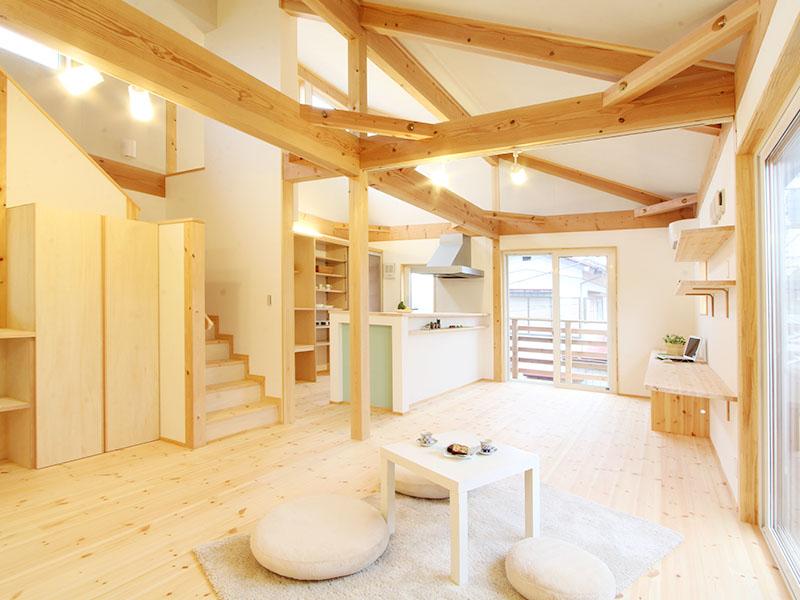 自然光を楽しむ家