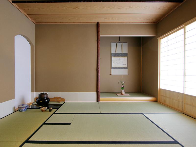 ふじみ野の茶室